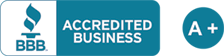 Better Business Bureau Accredited Business: A+